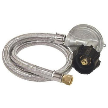 Barbour International Bayou Classic M5LPH Stainless Steel 30 Inch LP Hose - 1 PSI - for GRILLS