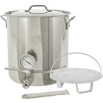Barbour International 800-416 Bc 6pc Home Brew Kettle Kit