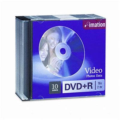Imation 16x DVD+R 4.7GB 10 Pack Slim Jewel