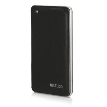 Memorex Imation 256GB External Solid State Drive - USB 3.0 - Black (29641 3)