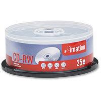 Netge Imation CD-RW 4x 700MB Rewritable Media - 25 Pack Spindle