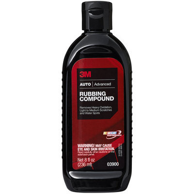 3M 051144039005 Car Wax - Auto Rubbing Compound - 8 ounce