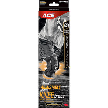 3m Ace Adjustable Hinged Knee Brace 907017 Adjustable