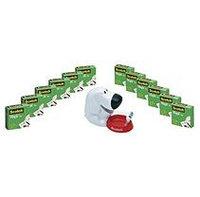 MMM810K12C31DOG - Scotch Magic Tape Dog Dispenser Value Pack