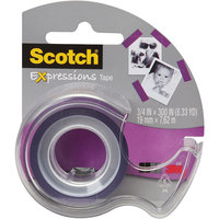Scotch(R) Expressions Tape In Dispenser, 3/4
