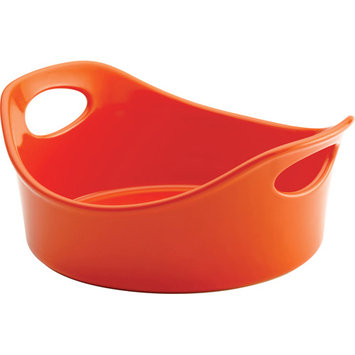 Rachael Ray 1.5-qt. Red Stoneware Round Baker