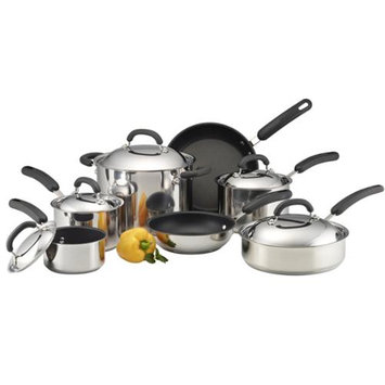 Circulon 12-pc. Nonstick Steel Hard-Anodized Cookware Set