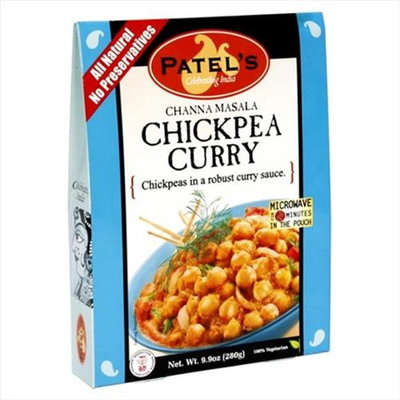 Patel's Mix Sce Rice Chckpea Curry Tmo Pack of 10