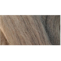 Clover 356223 Natural Wool Roving 0.3 OunceChocolate