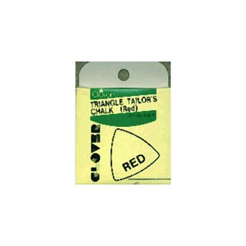 Clover 81281 Triangle Tailors Chalk-Red