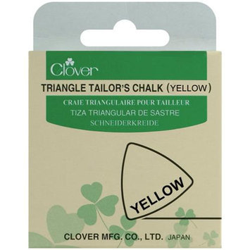 Clover 432-Y Triangle Tailors Chalk-Yellow