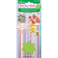 Clover 8450C Small Plastic Bow Maker to Creating Unique Fabric and Ribbons Bows