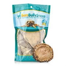 Best Bully Sticks Large Elk Antler Burr - 1 Pound Bag