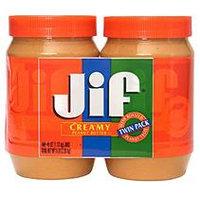 Jif® Creamy Peanut Butter - 2 jars - 40 oz. each