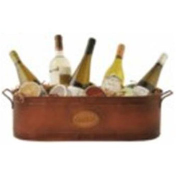 Wald Imports 3630 21 in. Oval Metal Container - Includes 1 piece