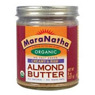 Maranatha Natural Foods 09058 Organic Raw Almond Butter No Salt