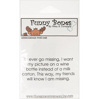 NOTM338042 - Riley & Company Funny Bones Cling Mounted Stamp 3