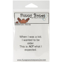 NOTM497220 - Riley & Company Funny Bones Cling Mounted Stamp 2