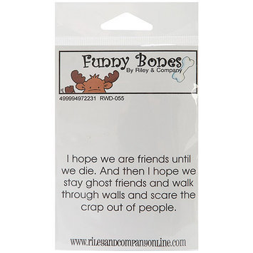 NOTM497223 - Riley & Company Funny Bones Cling Mounted Stamp 3