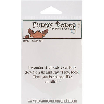 NOTM280795 - Riley & Company Funny Bones Cling Mounted Stamp 2