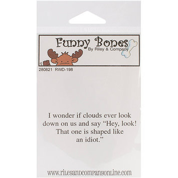 NOTM280793 - Riley & Company Funny Bones Cling Mounted Stamp 2