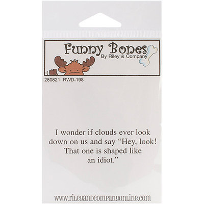 NOTM280808 - Riley & Company Funny Bones Cling Mounted Stamp 2