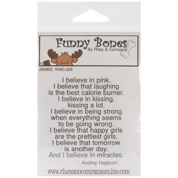 NOTM280853 - Riley & Company Funny Bones Cling Mounted Stamp 2
