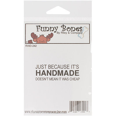 NOTM348135 - Riley & Company Funny Bones Cling Mounted Stamp 2