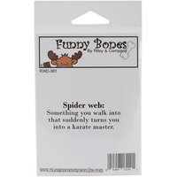 Riley & Company Funny Bones Cling Mounted Stamp 2.5