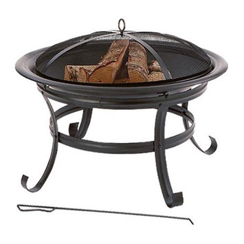 Tv Non-branded Items Four Seasons 61081 FS 30 Inch RND Firepit