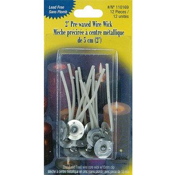 Yaley 110169 Pre-waxed Wire Wick w/Clip 2