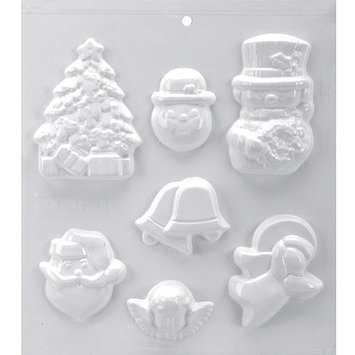 Yaley Soapsations Plastic Mold Garden Bugs 6 shapes