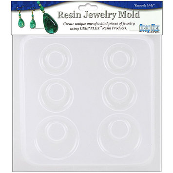 Yaley Resin Jewelry Reusable Plastic Mold 6-1/2
