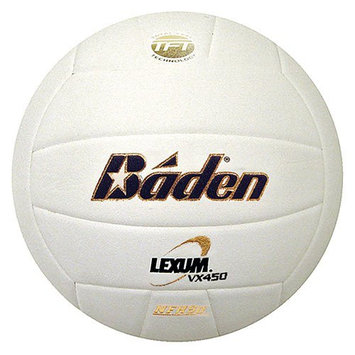 Baden Lexum VX450 Game Volleyball Purple/White NFHS