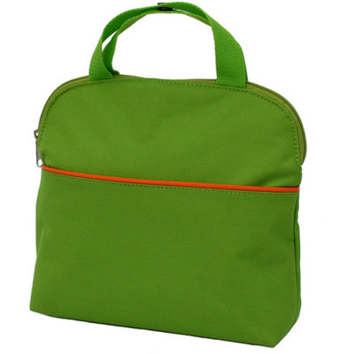 JL Childress MaxiCOOL Multi-Purpose Bottle Bag, Green/Orange
