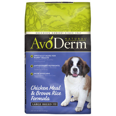 Phillips Feed & Pet Supply AvoDerm Natural Large Breed Dry Puppy Food 26lb