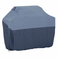 Classic Car Accessories Grilling Accessories. Belltown X- Skyline Blue Grill Cover
