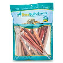 Best Bully Sticks 12 Inch Thick Made in the USA Bully Sticks - 25 Pack