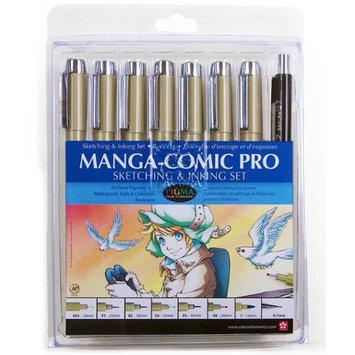 Sakura 50203 Manga-Comic Pro Sketching and Inking Set - 8 Piece