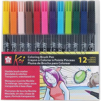 Sakura XBR-12SA Koi Coloring Brush Set-12 Color Set