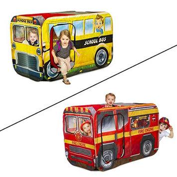 Playhut EZ Twist Interchangeable Fire Truck & School Bus