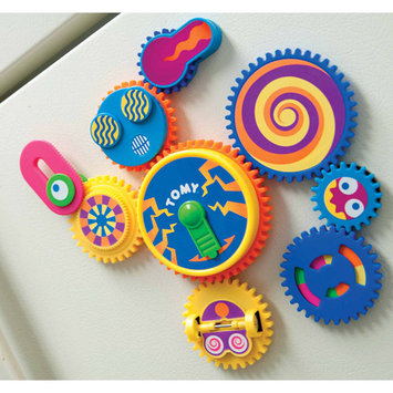 Gearation Refrigerator Magnets by International Playthings