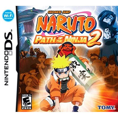 D3 Publisher Of America Naruto: Path of the Ninja 2 (used)
