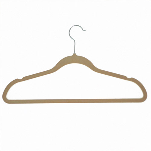 Achim Importing Co Velvet Anti-Slip Hangers Color: Purple