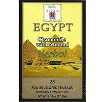 Healing Tea Leaves Chamomile Almond Teabags (25 ct, 6 pk.)