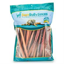 Best Bully Sticks 12 Inch Thick Made in the USA Odor Free Bully Sticks - 50 Pack
