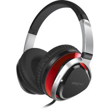 Creative Technology, Ltd Creative 51EF0660AA005 Aurvana Live 2 Over-the-ear Headphone Red