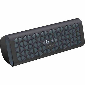Creative Labs Creative Muvo 20 Portable Wireless Bluetooth Speaker with NFC, Amp and Dual Flared Bass Port (Black)