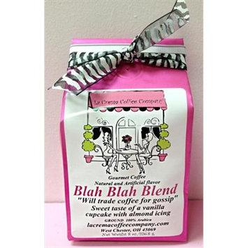 LaCrema 8OZBLBL Girlfriends 8 oz Blah Blah Blend Coffee - Pack of 2