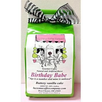 LaCrema 8OZBIBA Girlfriends 8 oz Birthday Babe Coffee - Pack of 2